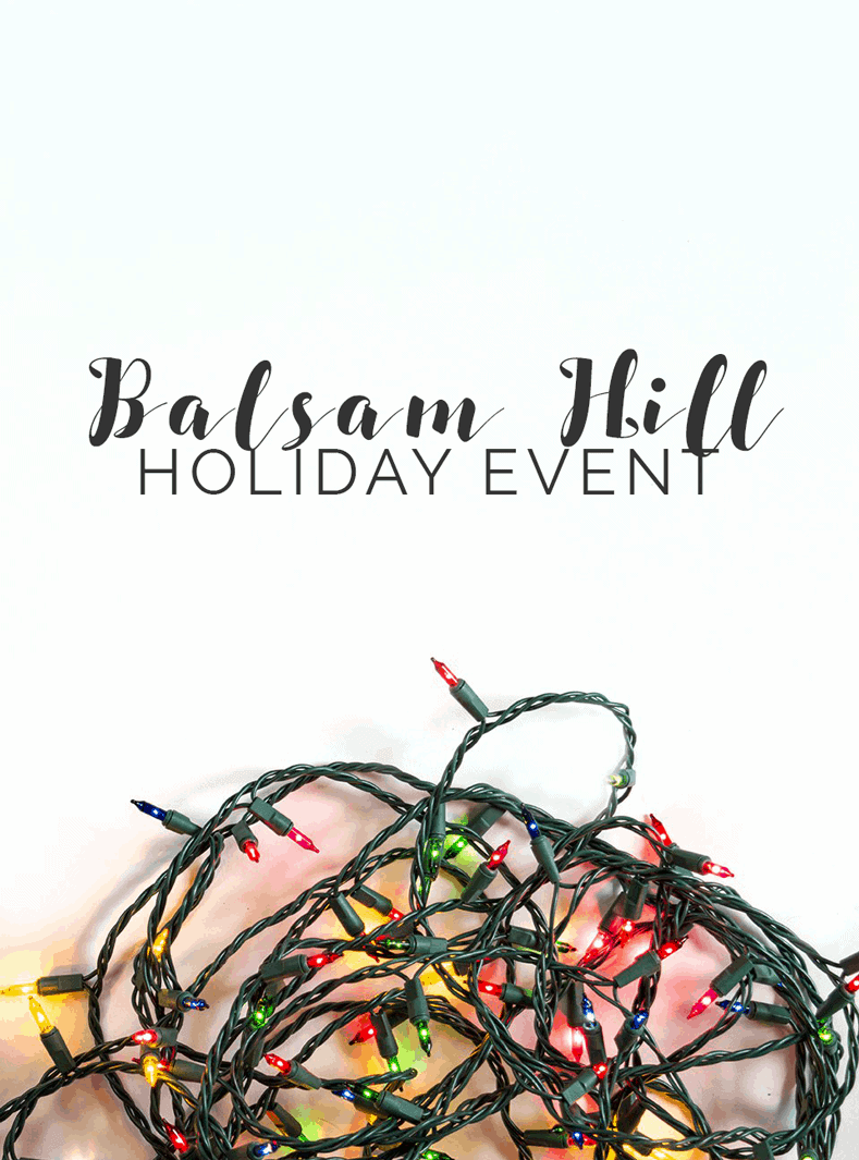 Balsam Hill Holiday Event