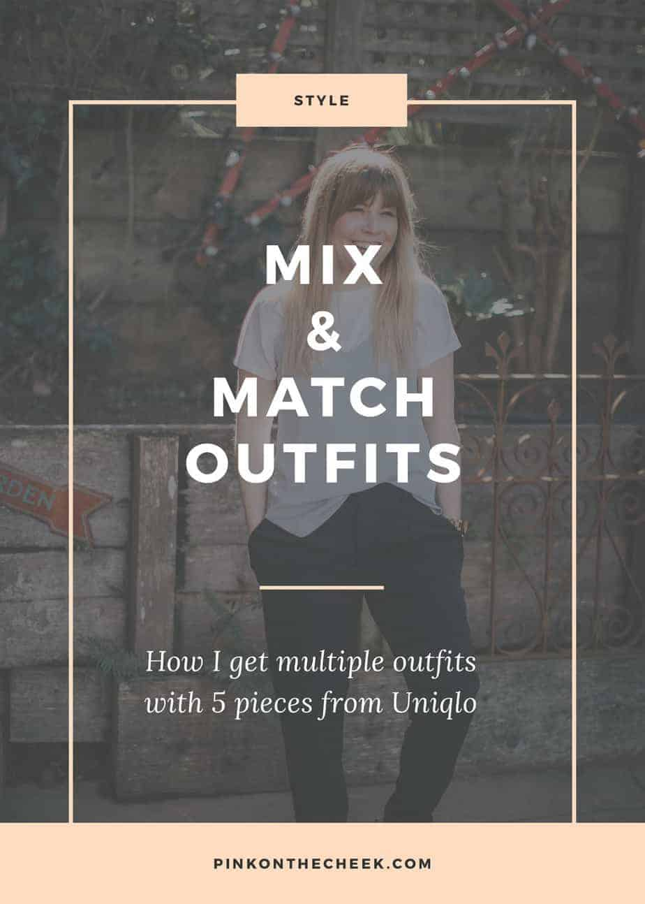 Mix and Match Outfits